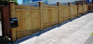 Fence For Sloped Yard Close Board Fencing Building A Fence Sloped Yard