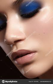 beautiful woman fashion makeup