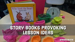 story books provoking lesson ideas