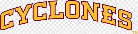 Iowa State University Iowa State Cyclones Football Car Logo Decal Car Text Truck Logo Png Pngwing
