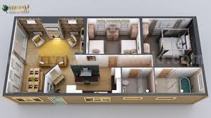 new small home design 3d floor plan by