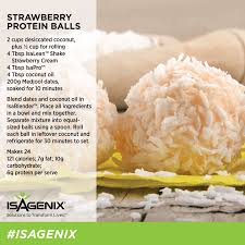 isagenix snacks on cleanse days