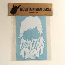Mountain Man Decal Lovingwv