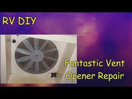 rv diy fantastic vent opener repair