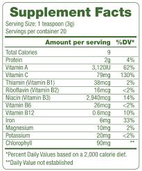 foods organic chlorella powder 2 1 oz
