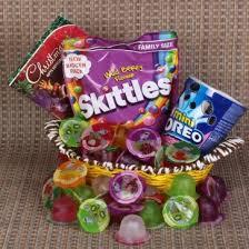 skittleini oreo with fruit jelly
