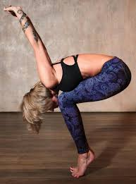 yoga enthusiasts long to touch their