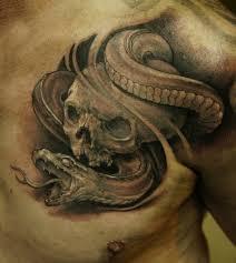 43 Tatouages Mythiques de Serpents Noir et Gris et Couleur