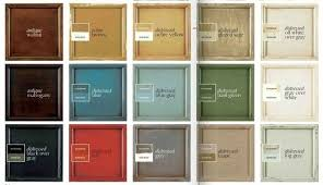 annie sloan chalk paint colors