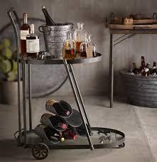victoria bar cart dining storage 595