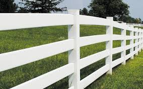 3 And 4 Rail Ranch Style Vinyl Fences Mr Fence