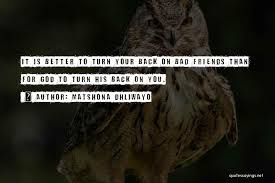 top when your friends turn their back on you quotes sayings