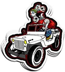 Decaldoggy Horror Movie 20pc Collection Wall Quotes Vinyl Decal Car Wall
