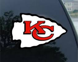 Chiefs Decal Etsy