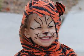 diy easy tiger makeup