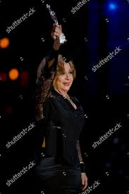 Adriana Roel Actress Adriana Roel holds her Editorial Stock Photo - Stock  Image | Shutterstock