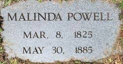 Malinda Smith Powell (1825-1895) - Find A Grave Memorial