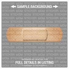 Decal Sticker Vinyl Bandaid Bandage X2 9x2 5 Auto Car Truck Scratch Dent Ebay