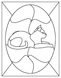 free stained glass patterns stained
