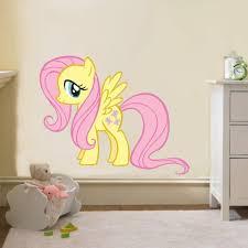 13 49 Fluttershy My Little Pony Decal Removable Wall Sticker Home Decor Art Girls Kids Ebay Hom Removable Wall Stickers Pony Wall Wall Stickers Home Decor