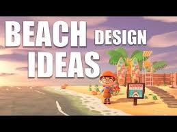 Cute Beach Design Ideas For Your Island Animal Crossing New Horizons Youtube