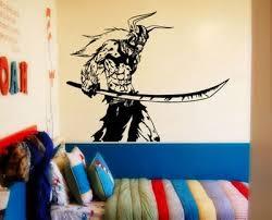 Ichigo Full Hollow From Bleach Anime Vinyl Sticker Wall Decal Wall Decals Wall Stickers Vinyl Sticker