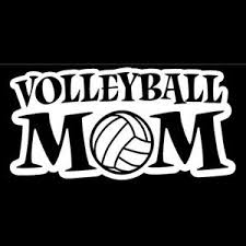 Volleyball Mom A3 Window Decal Sticker Custom Sticker Shop