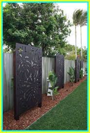57 Reference Of Modern Decorative Fence Panels In 2020 Privacy Fence Designs Garden Privacy Screen Small Backyard Landscaping
