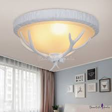 resin 3 lights bedroom ceiling light