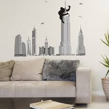 Removable Home Decor King Kong Pattern Wall Sticker Art Mural Christmas Home Ornament Sale Price Reviews Gearbest