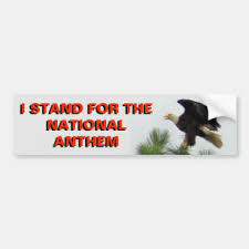 National Anthem Bumper Stickers Decals Car Magnets Zazzle