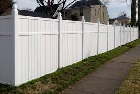 How To Install A Vinyl Fence A Diy Guide Hunker