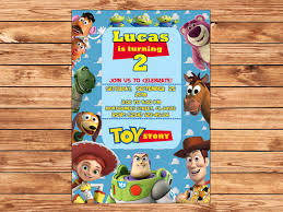 Toy Story Invitation Toy Story Printable Birthday Invitation