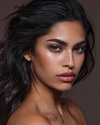 east indian model gorgeous makeup