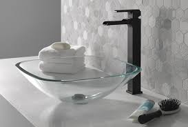 matte black style for the bathroom