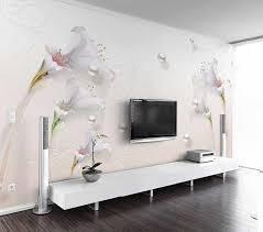 پوستر دیواری گل های شیپوری – چاپ دی |کاغذ دیواری سه بعدی | پوستر ...