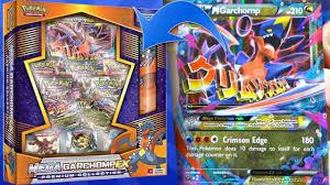 Pokemon Cards - Mega Garchomp EX Premium Collection Box Opening ...