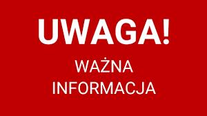 Kinoteatr Słonko » UWAGA! Ważna informacja