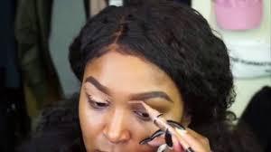 flawless makeup on dark skin