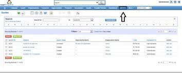 quotation management in vtiger vtplus crm target integration