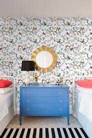 Bird And Butterfly Wallpaper For Childrens Room Decor