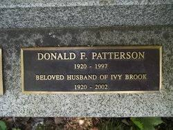 Ivy Brook Patterson (1920-2002) - Find A Grave Memorial