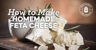 homemade feta cheese recipe