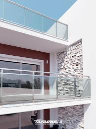 glass railing aluminum glass panel