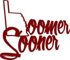 Oklahoma Sooners Decal Ou Boomer Sooner Car Window Cup Decal Sooners Oklahoma Sooners Cup Decal