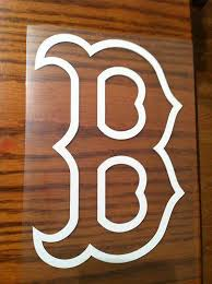 Find Boston Redsox Baseball Vinyl Decal Sticker Laptop Car Truck Motorcycle In Dothan Alabama Us For Us 0 01