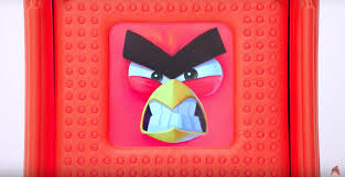 Angry Birds' Venting Machine rewards being punched