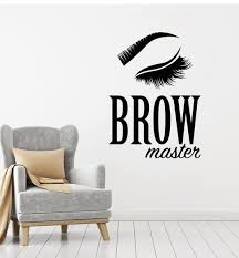 Beauty Hair Salon Wall Vinyl Decal Tagged Brows Art Wallstickers4you