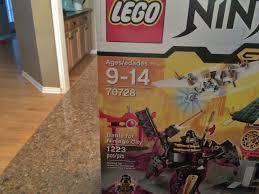 New LEGO Ninjago Battle for Ninjago City 70728 Sealed