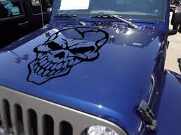 Buy Big Skull Tribal Graphics Army Military Decal Car Truck Van Hood Vinyl Sticker